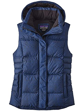Current It Women's Down Cross Patagonia Blueblack Small Vest With OBAWwq