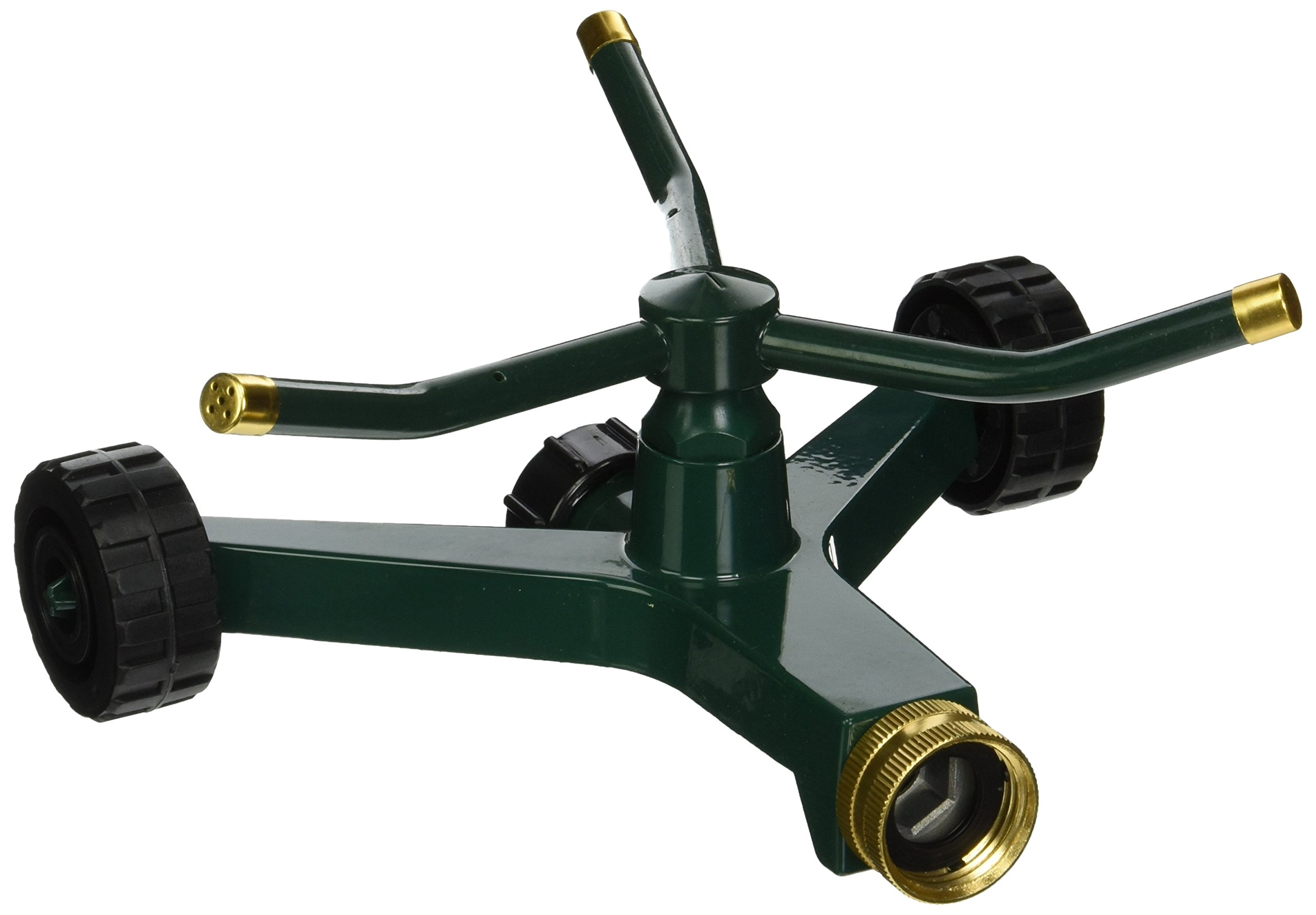 Orbit 58257N Metal 3-Arm Sprinkler with Wheeled Base