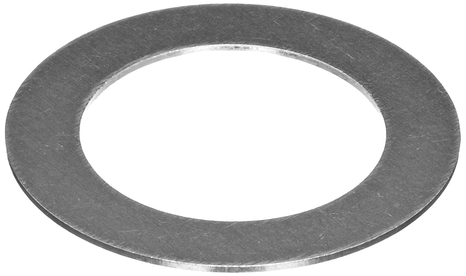 18-8 Stainless Steel Round Shim, Unpolished (Mill) Finish, Annealed, Hard Temper, ASTM A666, 0.010' Thickness, 0.501' ID, 0.750' OD (Pack of 50) 0.010 Thickness 0.501 ID 0.750 OD (Pack of 50) Small Parts Inc 188SS2712