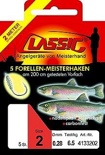 Paladin Classic Forellen Teighaken Geb. (50cm)