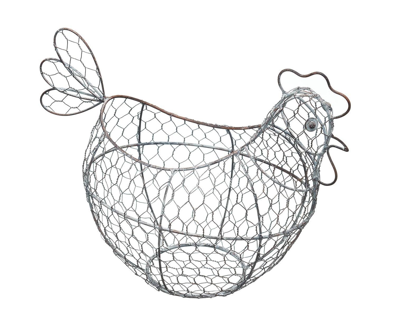 Kitchen Craft - Cestino per uova, in rete metallica KCCHICK