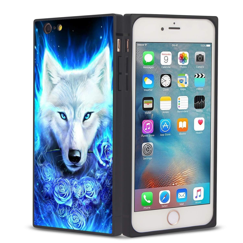 Amazon.com: Funda para iPhone 6S de Ostrich Square JQLOVE ...