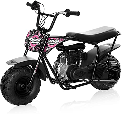 Amazon.com: Mini motocicleta de Monster Moto, rosado, (Muddy ...