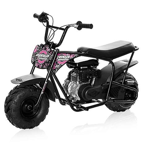 Mega Moto MM-B80-MG 2 5HP Without Suspension 80CC Youth Mini Bike (Muddy  Girl Pink)