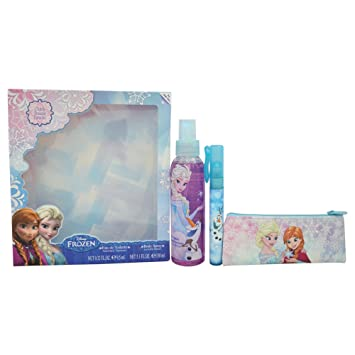Amazon.com : Disney Frozen for Kids Gift Set EDT Spray, Body ...