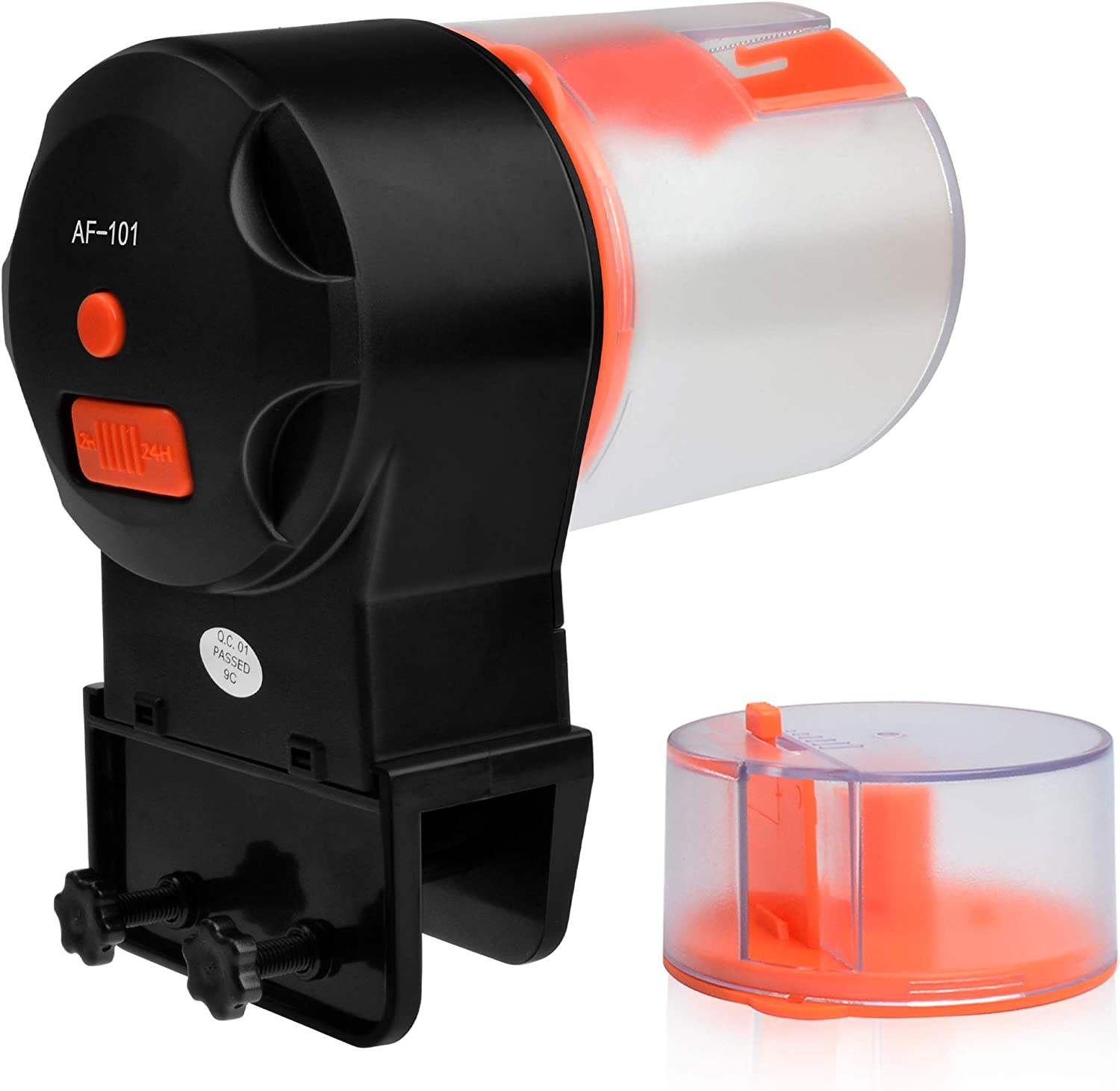 Automatic Fish Feeder, Vacation Fish Feeder Timer Dispenser for Aquariums and Small Turtle Tanks