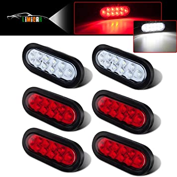 75 LED Tail Light Bar Super Bright 12v Turn Signal//Brake//Reverse//Taillight for Cargo Semi Trailer Container Tractor Truck Bus Lorries