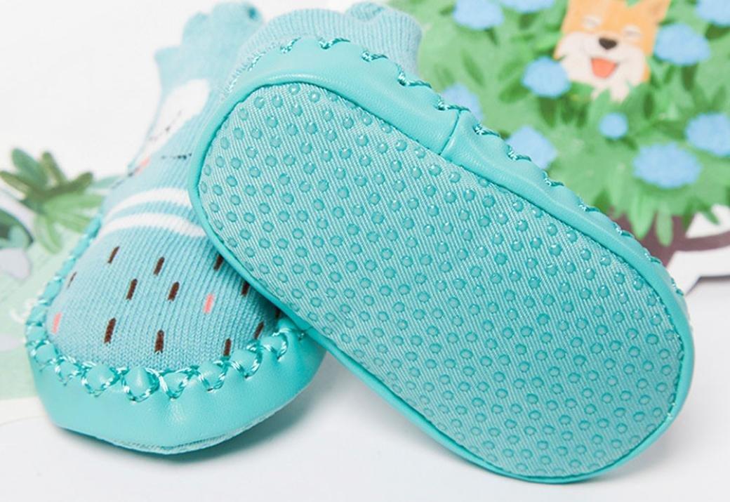 b7abce5a9 K-youth® Invierno Bebé Niñas Niños Indoor Zapatillas Piso Calcetines ...
