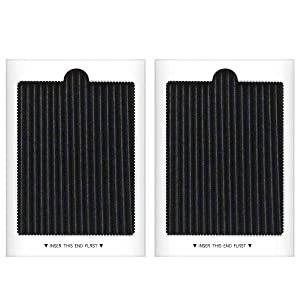 Carbon Activated Refrigerator Air Filter Replacement Compatible with Frigidaire PAULTRA, SCPUREAIR2PK, Electrolux EAFCBF (2 PCS)