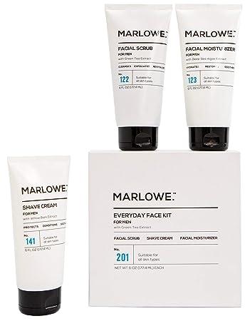 Amazon Com Marlowe No 201 Everyday Face Kit For Men Men S