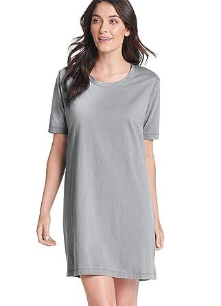 Jockey Women s Sleepwear Everyday Essentials Cotton Short Sleeve Sleepshirt a4382b378