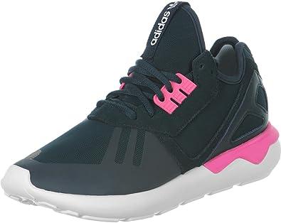 adidas Tubular Runner, Baskets Hautes Femme - Gris - Grau Pink, 42 2/
