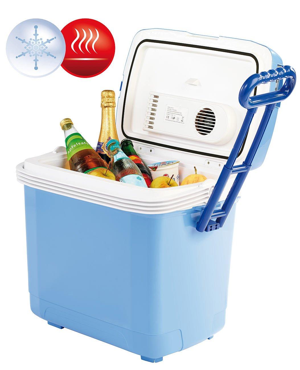 Xcase Wärmebox für Essen: Thermoelektrische Kühl- und Wärmebox, 30 l, 12 & 230 V Anschluss (Elektrische Wärmebox)
