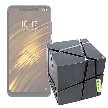 DURAGADGET FANTÁSTICO Altavoz Inalámbrico Portátil para Smartphone Xiaomi Mi 8 Lite, Xiaomi Mi 8 Pro, Xiaomi Pocophone F1- con Luces De Colores: Amazon.es: ...