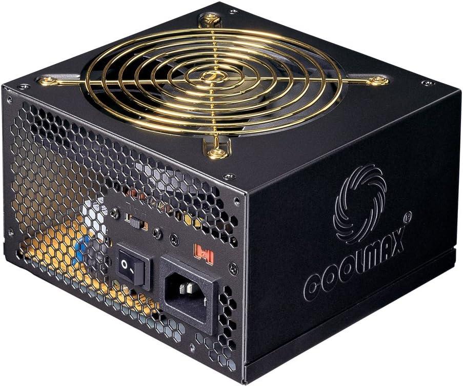 Coolmax M-500B 500W Eps Power Supply with 5 Sata Connectors ATX12V & EPS12V
