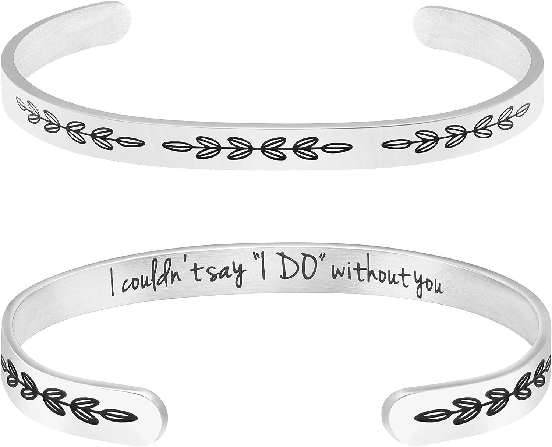 MAID of HONOR Bracelets \u2022 Maid of Honor Jewelry \u2022 Gift for Maid of Honor \u2022 Enamel Tile Bracelet \u2022 NOT Plastic \u2022 Stretches to Fit Everyone