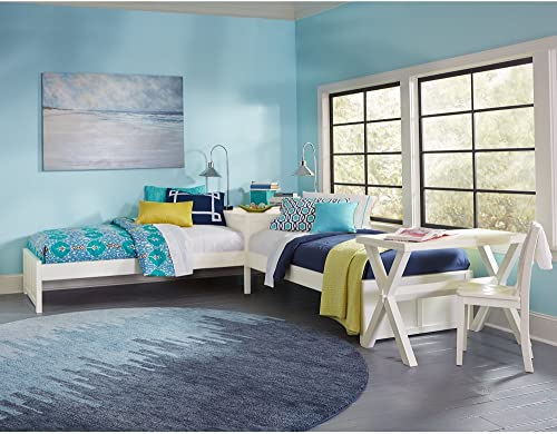 NE Kids Pulse Twin L Shaped Storage Platform Bed