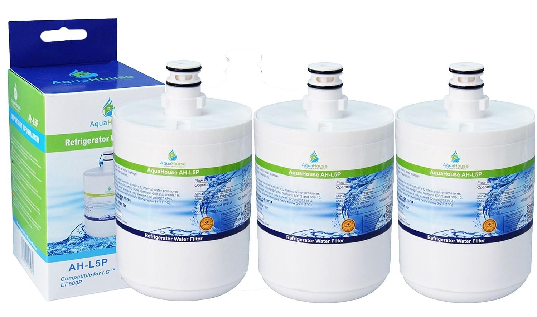ADQ72910901 3x AH-L5P compatibile per filtro per lacqua LG LT500P GEN11042FR-08 Premium filtro per lacqua frigorifero 5231JA2002A