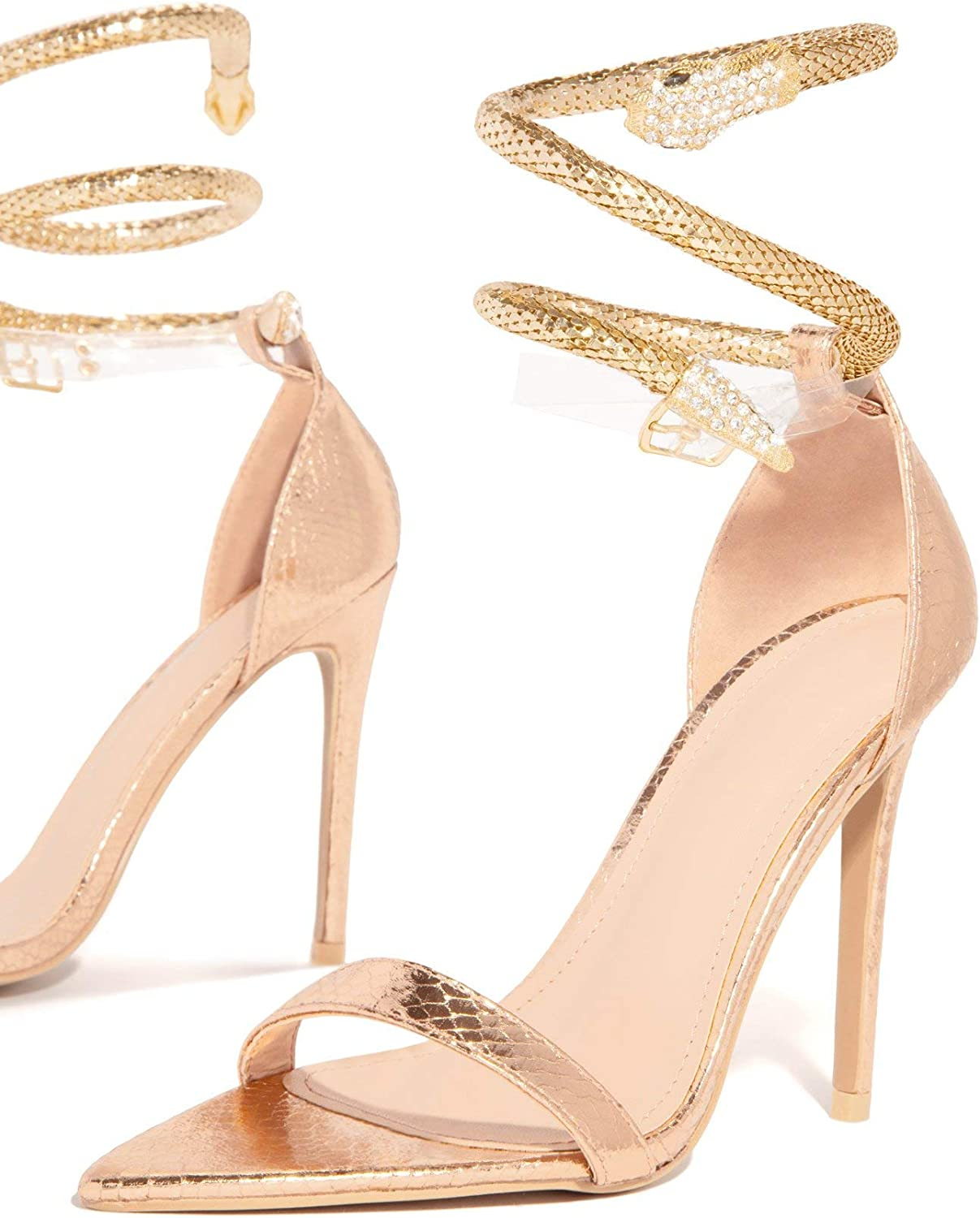Heels With Gold