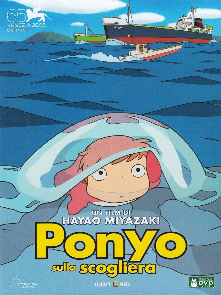Ponyo sulla scogliera: Amazon.it: Cartoni Animati, Cartoni Animati ...
