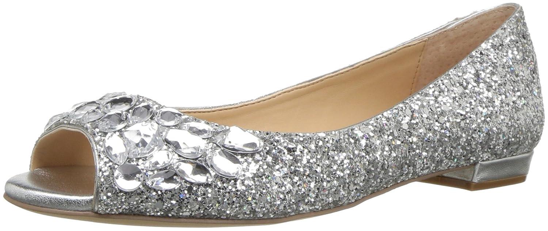 897ded2d7 Amazon.com: Jewel Badgley Mischka Women's Claire Ballet Flat: Shoes
