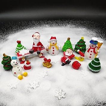EMiEN Juego de 26 Piezas de Adornos en Miniatura para decoración de casa de muñecas de