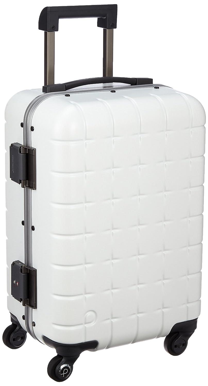 [プロテカ] Proteca 日本製スーツケース 360フレーム 48cm 34L 4.1kg 機内持込可 サイレントキャスター B01FVQU8JA ホワイト ホワイト