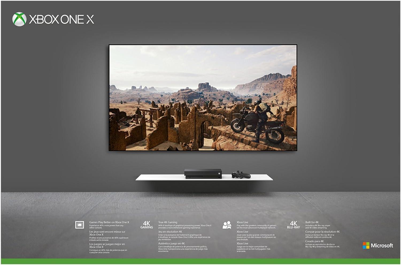 Amazon com: Xbox One X 1TB Console - PLAYERUNKNOWN'S