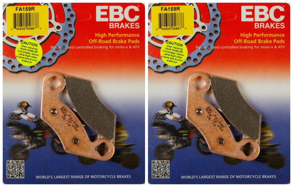 EBC Brake Pads FA159R (2 Packs - Enough for 2 Rotors) by EBC Brakes