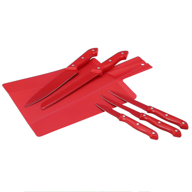 Compra Renberg Set de 6 Cuchillos de Acero Inoxidable en ...