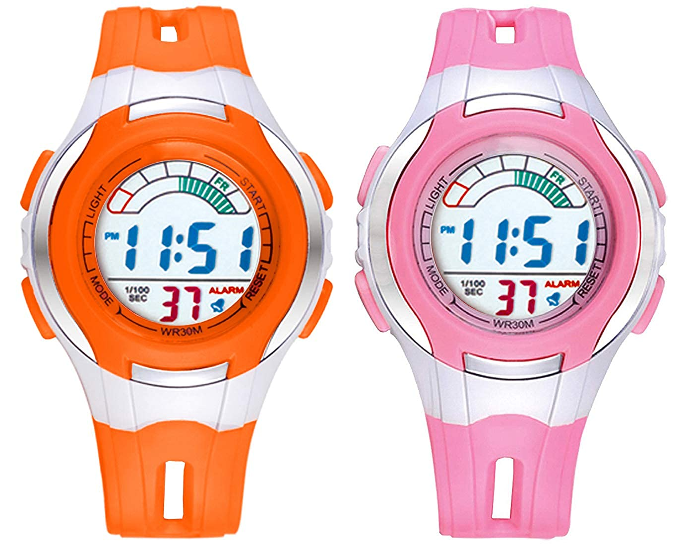 Time Up Combo of 2 Digital Watches for Kids Time Up Combo of 2 Digital Watches for Kids