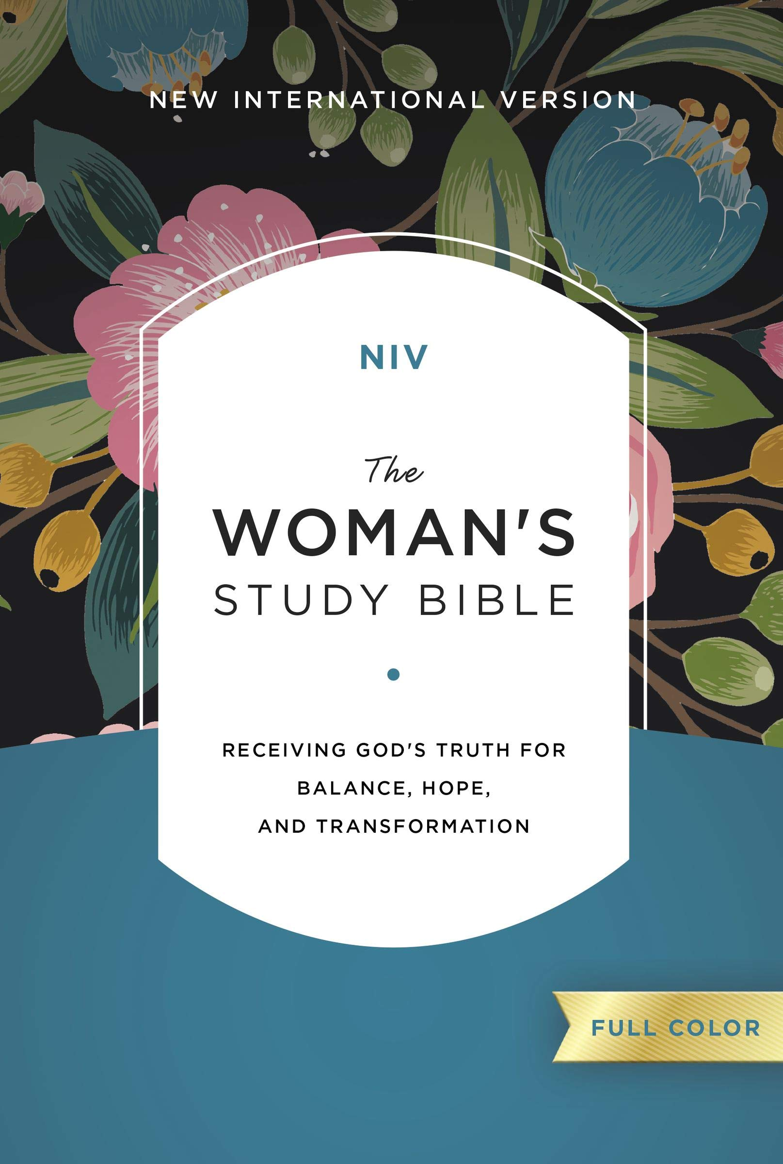NIV, The Woman's Study Bible, Hardcover, Full-Color: Receiving God's Truth for Balance, Hope, and Transformation by HarperCollins Christian Pub.