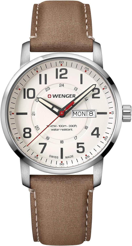 Wenger Sport Attitude - Reloj de cuarzo (acero inoxidable)