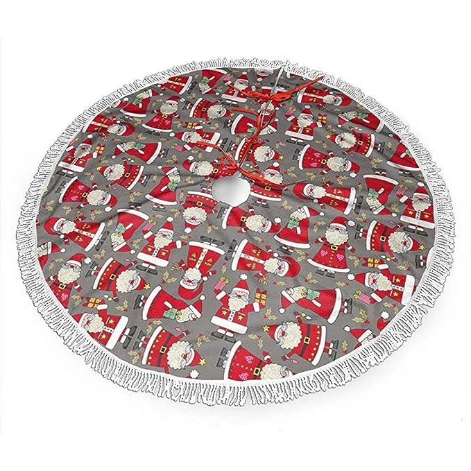 Not Applicable Christmas Tree Skirt,Navidad Festiva Santa ...