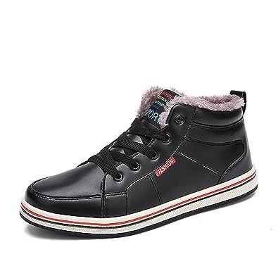 Eagsouni Bottes et boots homme Baskets Mode Hiver Chaudes Bottes de Neige  fourrées pour homme noir 42  Amazon.fr  Chaussures et Sacs a2325f6f2984