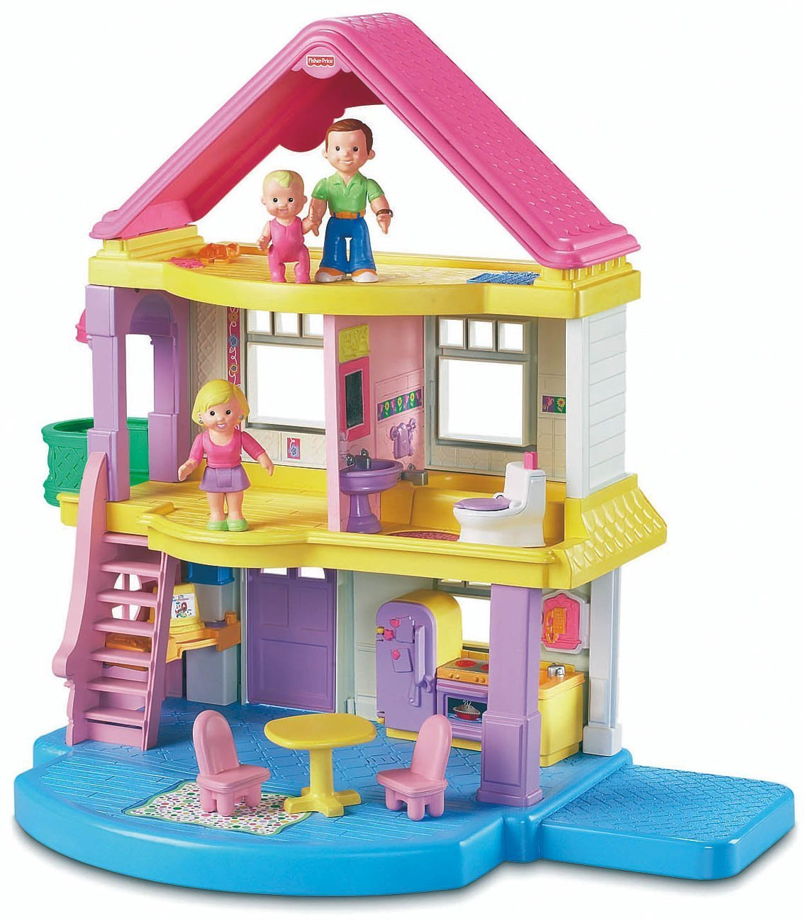Fisher price doll house furniture - Fisher Price Doll House Furniture 25