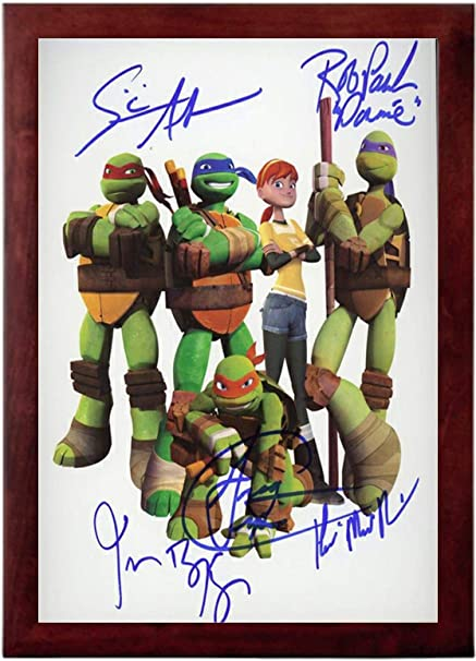 Amazon.com: Teenage Mutant Ninja Turtles Cast Autograph ...