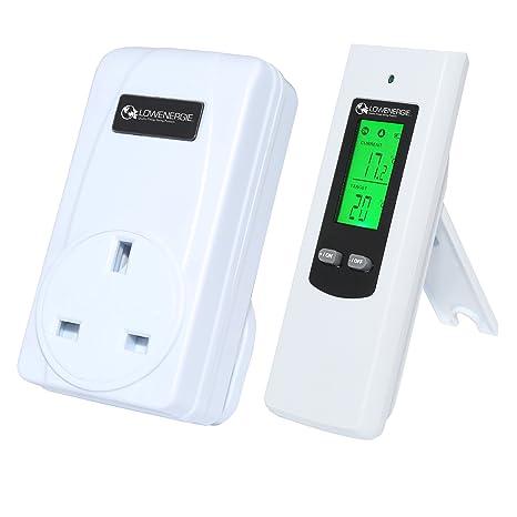 Inalámbrico Digital enchufe en calefacción termostato mando a distancia RF enchufe invernadero