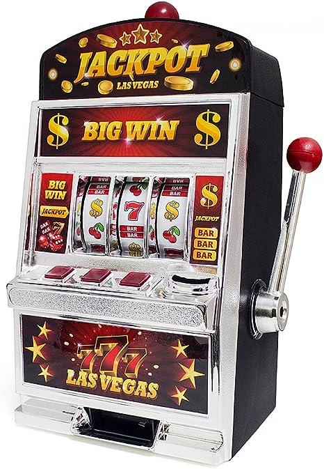 Balvi Juego Las Vegas Máquina tragaperras Doble función: Juego de ...
