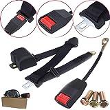 Universal 3 Point Retractable Auto Car Seat Belt Harness Adjustable Safety Belt