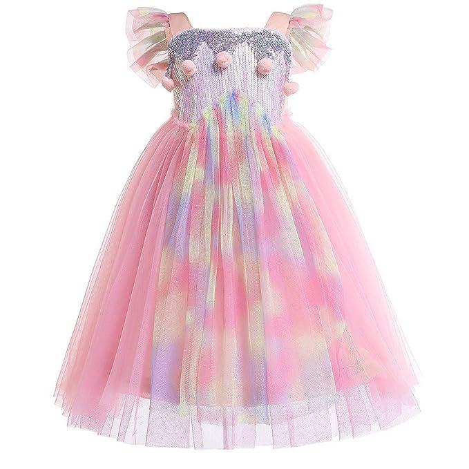 Amazon.com: Sylfairy - Vestido de tutú reversible para niñas ...