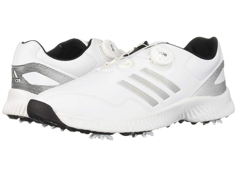 [アディダス] レディースゴルフシューズ靴 Response Bounce Boa [並行輸入品] 28.0 cm Clear Onix/Footwear White/Grey B07PC39N24