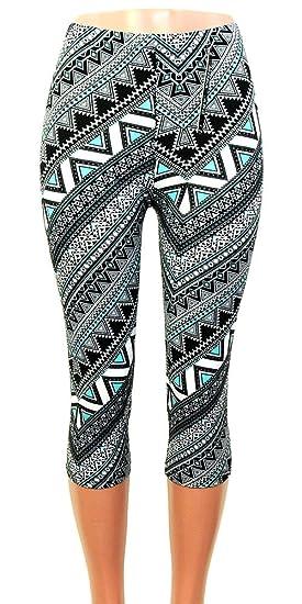 f27af2ceb4363 Moda Age Women s Ultra Soft Brushed Best Patterned Printed Leggings -  Regular Sizes (Size 0