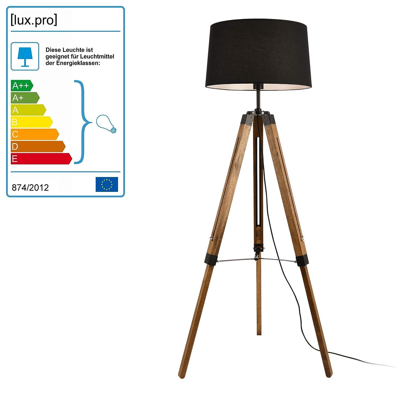 Stehleuchte 140cm Stehlampe Standleuchte Stand Lampe Metall 3