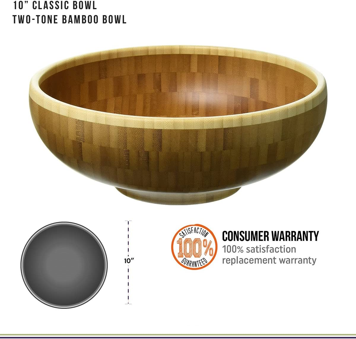 10 in Totally Bamboo Classic Bowl