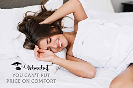 Juego de sábanas de algodón egipcio (4 piezas) - Colcha de 1000 hilos bolsillo profundo Premium calidad Juego de cama, sábanas de cama de lujo para Hotel y ...