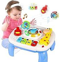 ACTRINIC Mesa Musical De Estudio Juguete para Bebés De 6 A 12 Meses Juguete De Educación Temprana Juguete Musical Mesa…