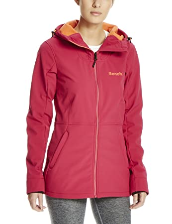 Bench softshell jacke damen pink