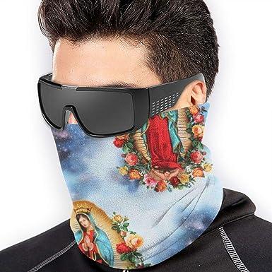 ewretery Roses Bandana Tube Ma-SK Headwear For Dust Wind UV Sun For Women Men Face Scarf