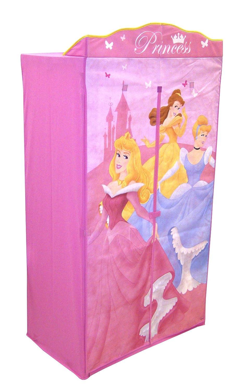 Worlds Apart 295DSP01 Disney Princess Kleiderschrank aus Stoff ...